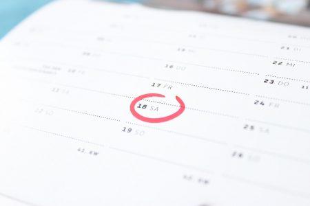 Dates vacances